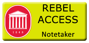 Link To Rebel Access Notetaker