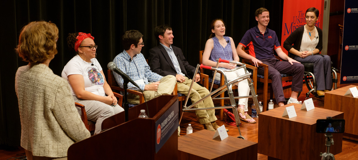 Disability Awareness Month Student Panel.