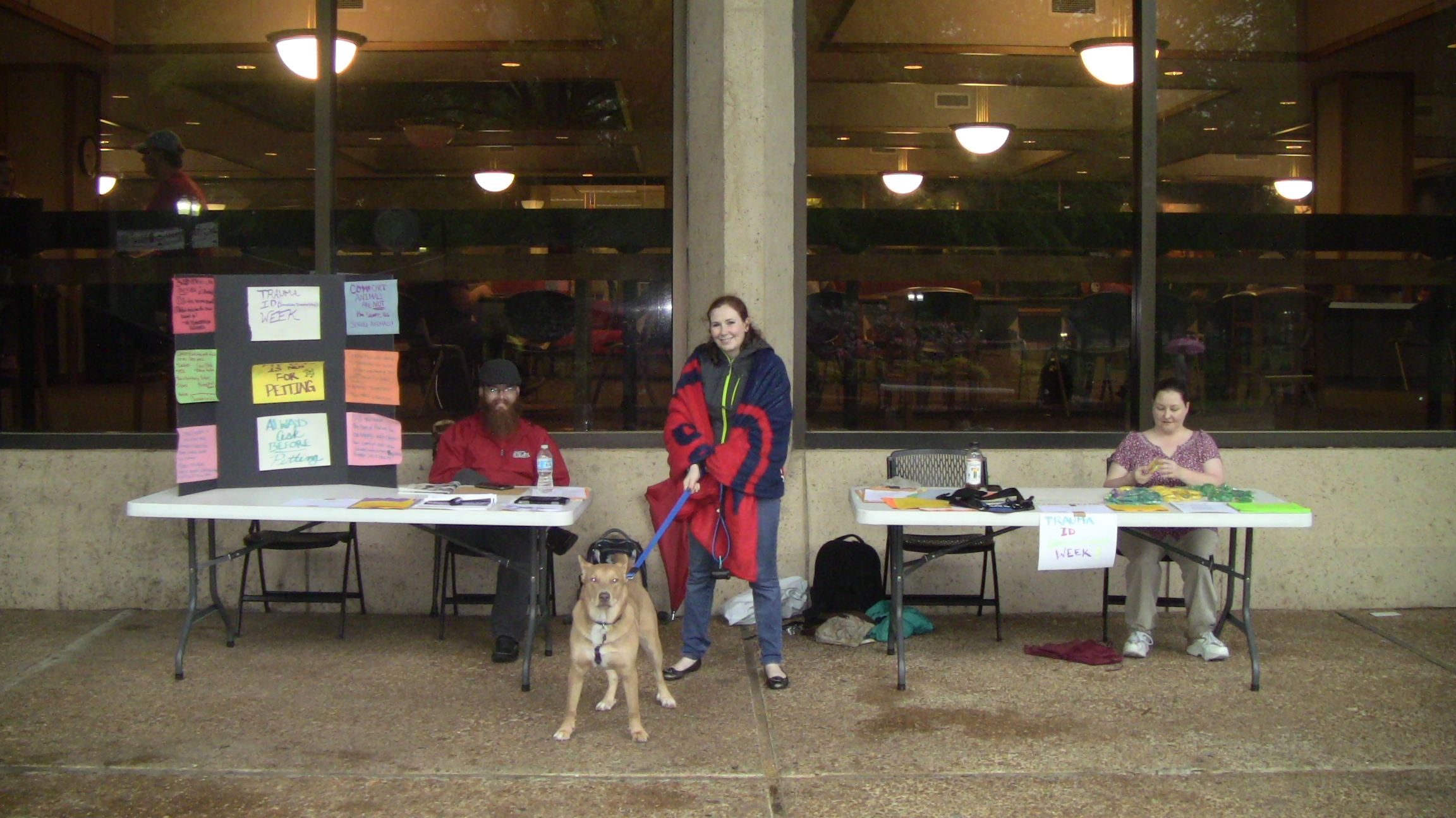 Disability Awareness Month Service Dog Event.