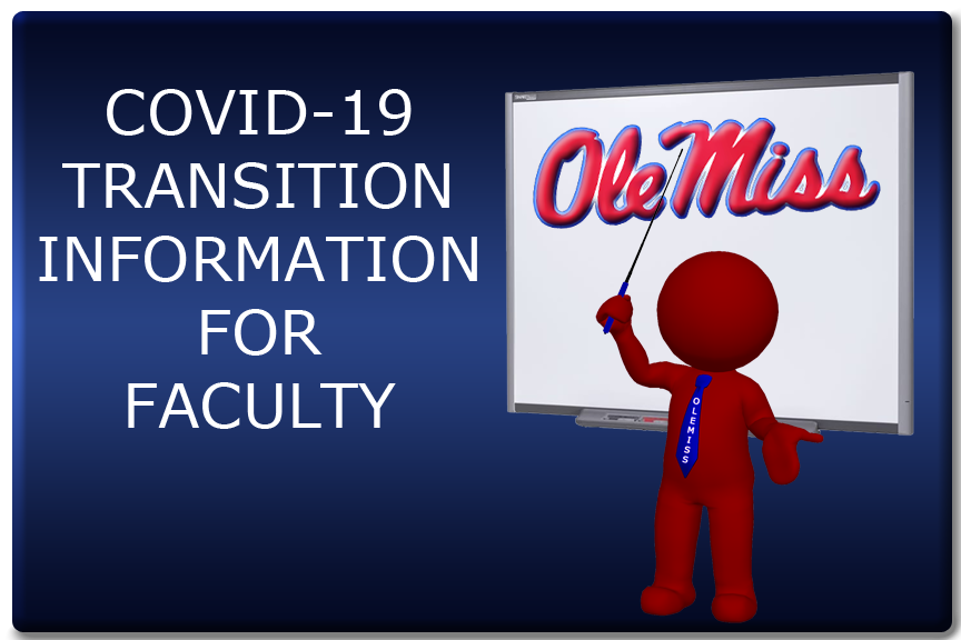 Link To COVID-19 Transition Information for Faculty